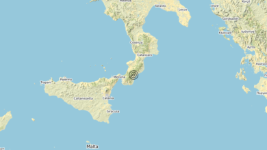 Terremoto Calabria 23-04-2020