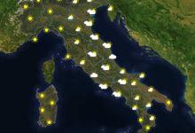 Previsioni del tempo in Italia per il giorno 28/05/2020
