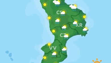Previsioni Meteo Calabria 26-05-2020