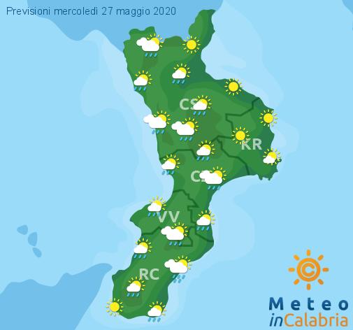 Previsioni Meteo Calabria 27-05-2020