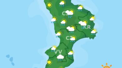 Previsioni Meteo Calabria 31-05-2020