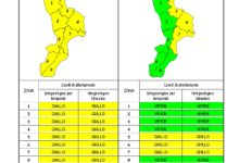 Criticità idrogeologica-idraulica e temporali in Calabria 30-05-2020