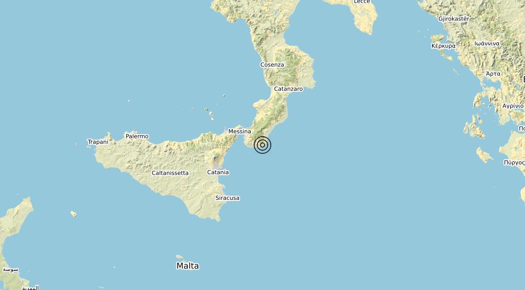 Terremoto Calabria 03-05-2020