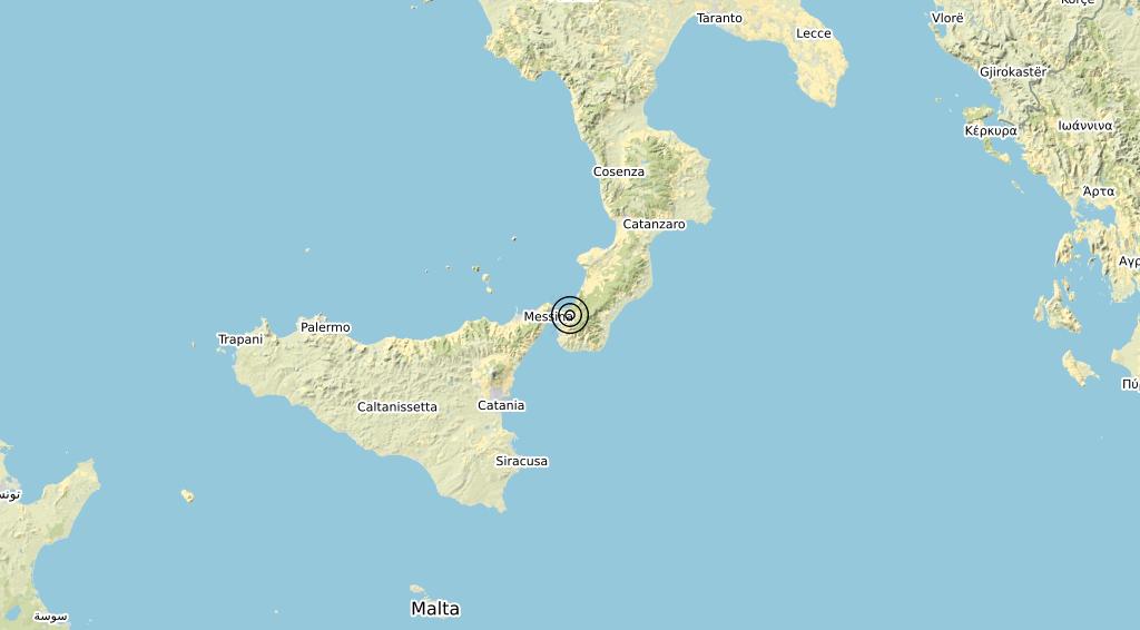 Terremoto Calabria 24-05-2020