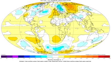 resoconto climatico maggio 2020