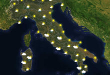 Previsioni del tempo in Italia per il giorno 02/06/2020