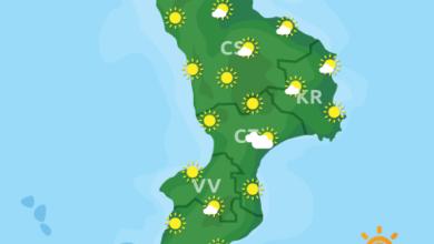 Previsioni Meteo Calabria 04-06-2020
