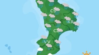 Previsioni Meteo Calabria 05-06-2020