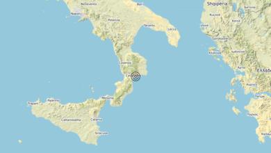 Terremoto Calabria 09-06-2020