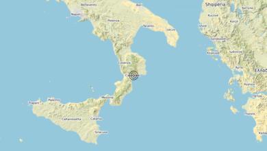 Terremoto Calabria 10-06-2020