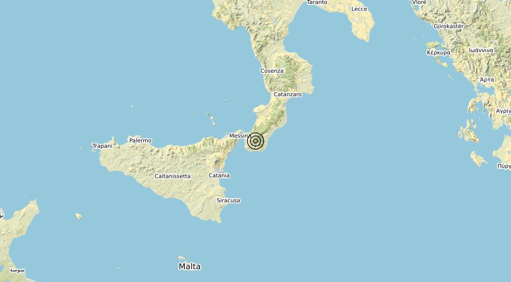 Terremoto Calabria 15-06-2020