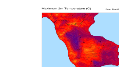 Sfiorati i 40° oggi in Calabria