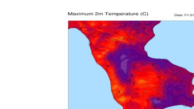 Meteo live: raggiunti 41,5°C