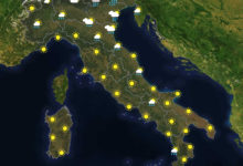 Previsioni del tempo in Italia per il giorno 11/07/2020