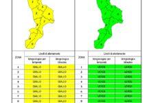 Criticità idrogeologica-idraulica e temporali in Calabria 06-07-2020
