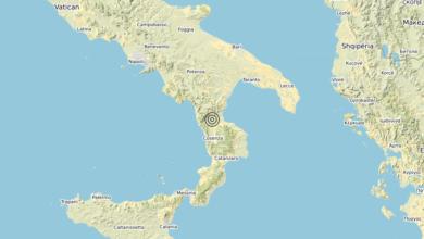 Terremoto Calabria 30-07-2020