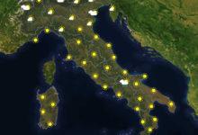 Previsioni del tempo in Italia per il giorno 12/08/2020