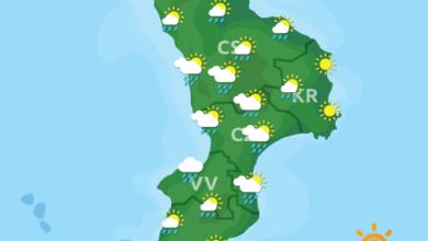 Previsioni Meteo Calabria 08-08-2020