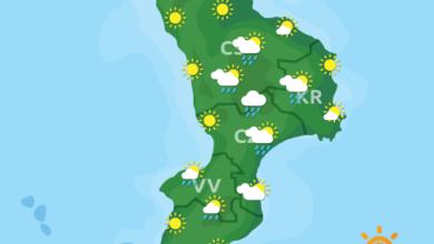 Previsioni Meteo Calabria 11-08-2020