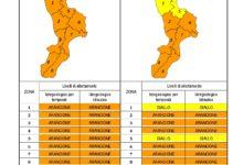 Criticità idrogeologica-idraulica e temporali in Calabria 07-08-2020