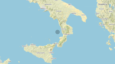 Terremoto Calabria 27-08-2020