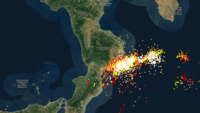 Il ciclone tropicale sfiora la Calabria