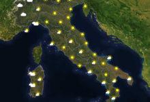 Previsioni del tempo in Italia per il giorno 29/09/2020