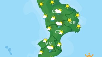Previsioni Meteo Calabria 11-09-2020