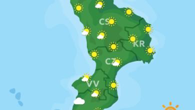 Previsioni Meteo Calabria 13-09-2020