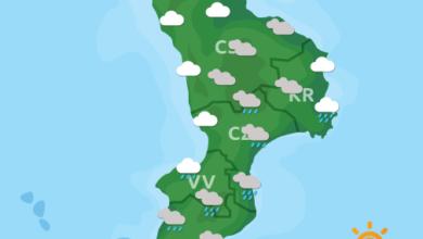 Previsioni Meteo Calabria 16-09-2020