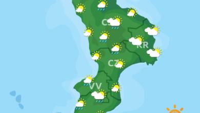 Previsioni Meteo Calabria 18-09-2020