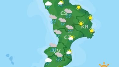 Previsioni Meteo Calabria 26-09-2020