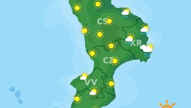 Previsioni Meteo Calabria 30-09-2020