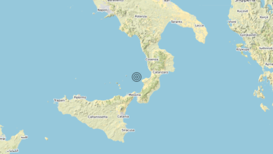 Terremoto Calabria 16-09-2020