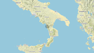 Terremoto Calabria 28-09-2020