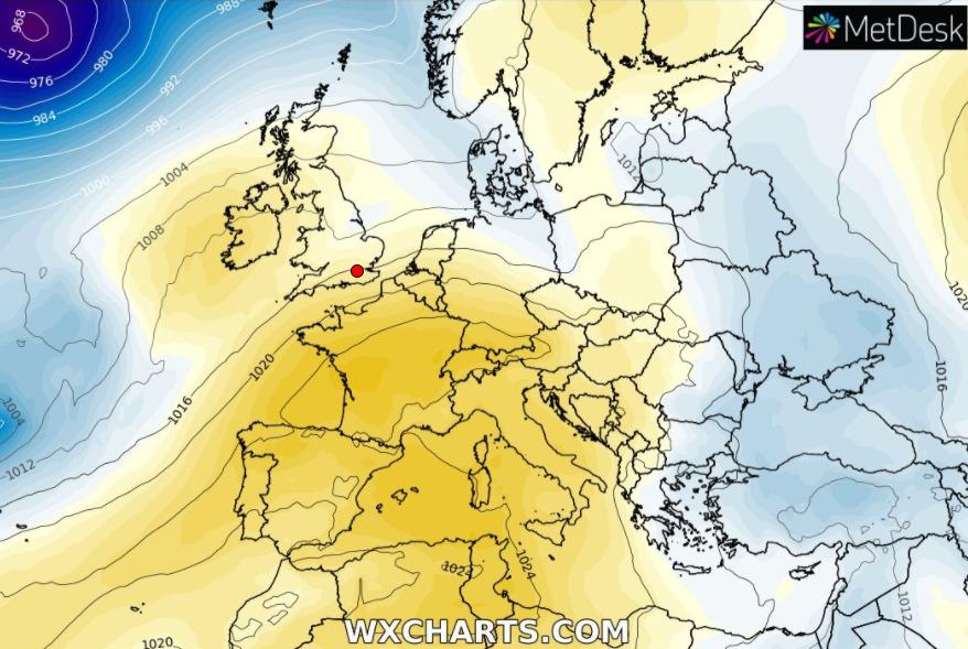 Fine settimana stabile e clima gradevole