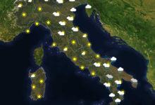Previsioni del tempo in Italia per il giorno 28/10/2020