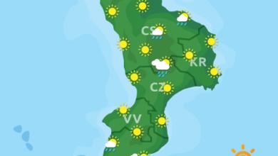 Previsioni Meteo Calabria 19-10-2020