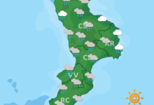 Previsioni Meteo Calabria 27-10-2020