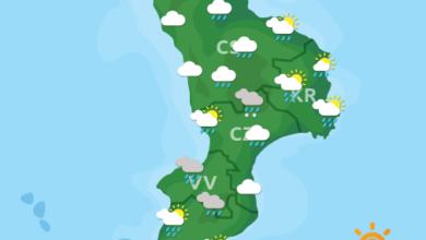 Previsioni Meteo Calabria 28-10-2020