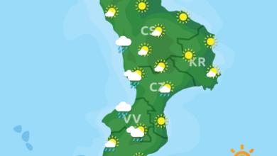 Previsioni Meteo Calabria 29-10-2020