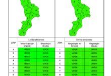 Criticità idrogeologica-idraulica e temporali in Calabria 21-10-2020