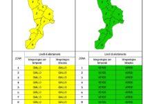 Criticità idrogeologica-idraulica e temporali in Calabria 28-10-2020