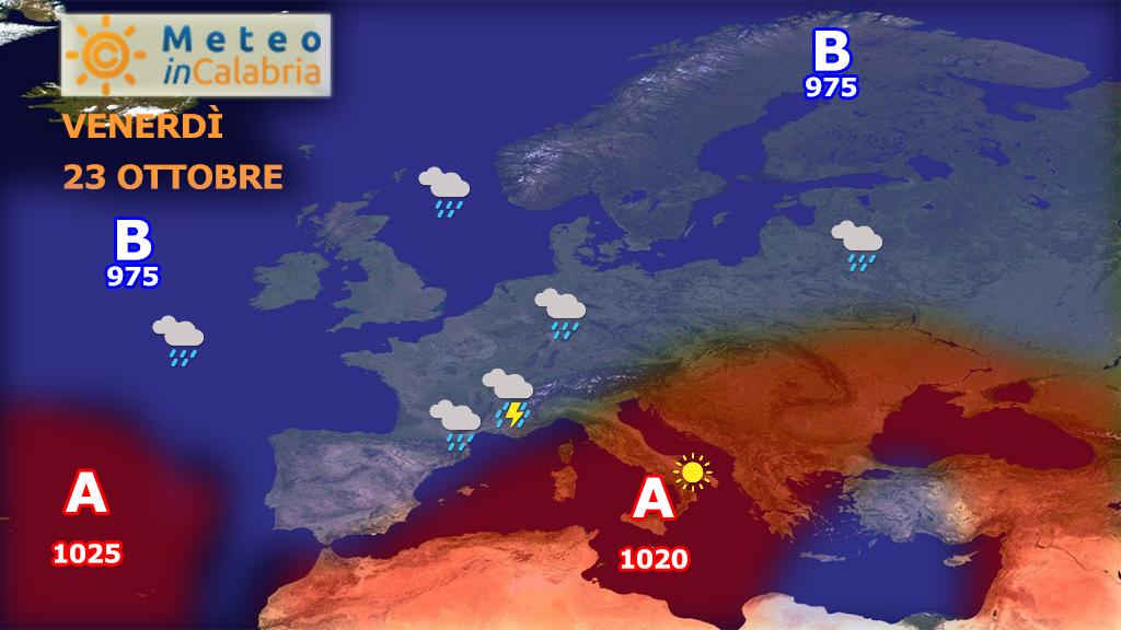 Clima mite e temperature in ulteriore aumento