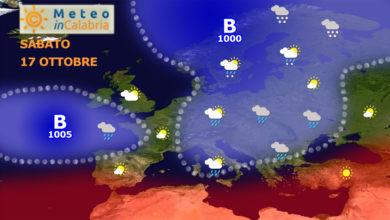 variabilità con locali piogge