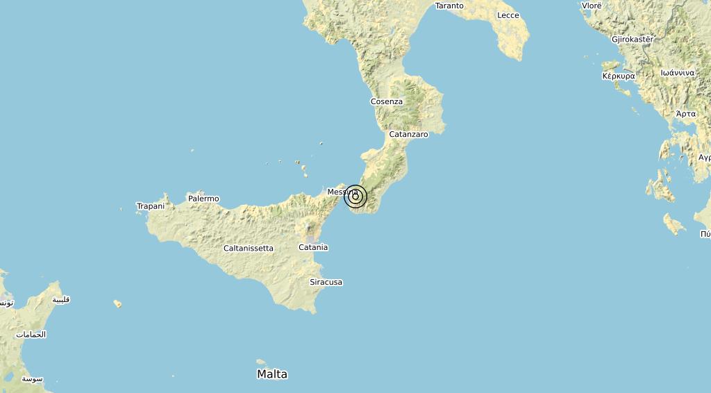 Terremoto Calabria 11-10-2020