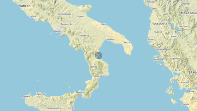 Terremoto Calabria 27-10-2020