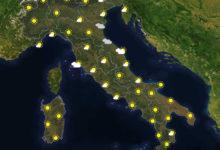 Previsioni del tempo in Italia per il giorno 26/11/2020