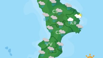 Previsioni Meteo Calabria 17-11-2020