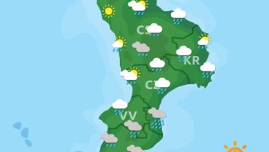 Previsioni Meteo Calabria 23-11-2020